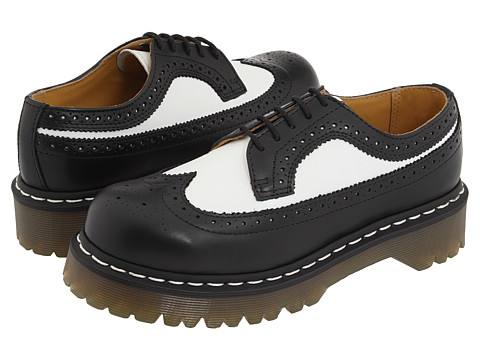 Incaltaminte Femei Dr Martens 3989 BlackWhite Smooth
