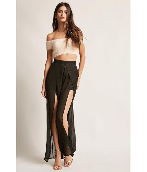 Imbracaminte Femei Forever21 Glitter Tulip Pants BLACK