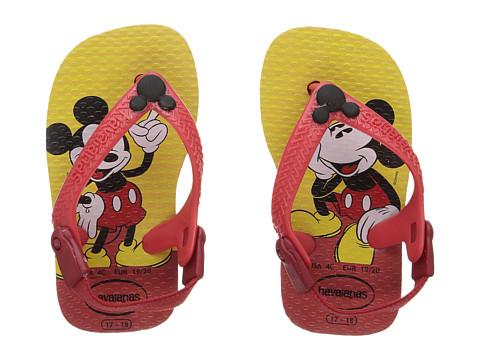Incaltaminte Baieti Havaianas Disney Classics Sandals (Toddler) RedBlack