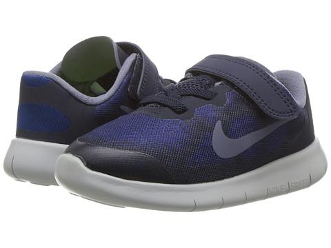 Incaltaminte Baieti Nike Free RN 2017 (InfantToddler) Binary BlueDark Sky BlueObsidian