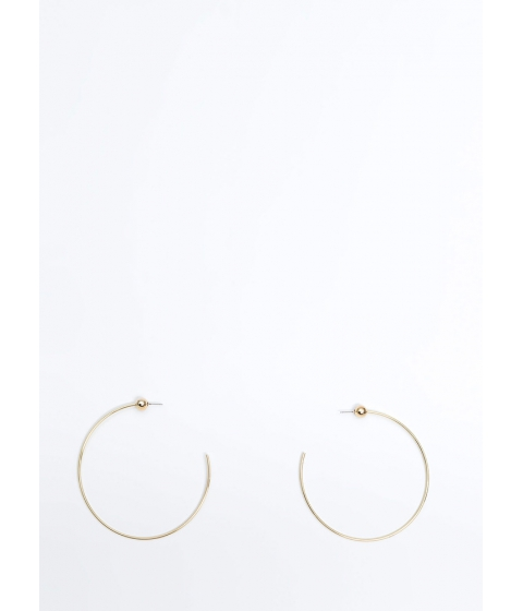 Bijuterii Femei CheapChic Lets C Oversized Partial Hoop Earrings Gold