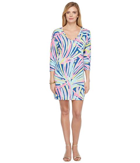 Imbracaminte Femei Lilly Pulitzer Cori Dress Indigo Sea Dreamin