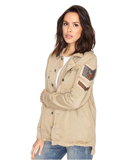 Imbracaminte Femei Free People Embellished Military Shirt Jacket Sand