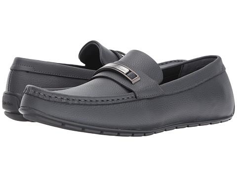 Incaltaminte Barbati Calvin Klein Irving Grey Tumbled Leather