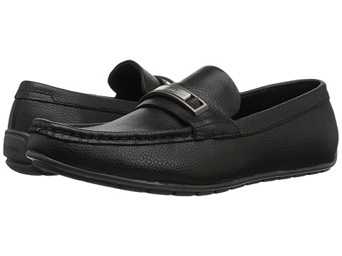 Incaltaminte Barbati Calvin Klein Irving Black Tumbled Leather