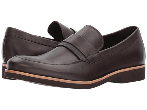 Incaltaminte Barbati Calvin Klein Forbes Dark Brown Dress Calf