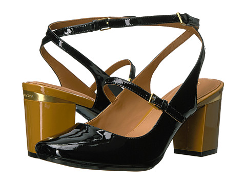 Incaltaminte Femei Calvin Klein Cleary Black Patent