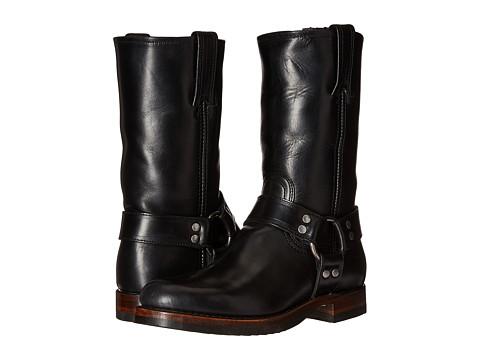 Incaltaminte Barbati Frye John Addison Harness Black Smooth Pull-Up Leather