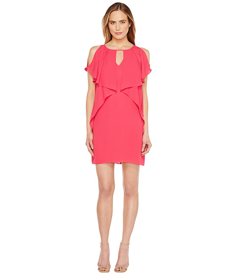 Imbracaminte Femei Laundry by Shelli Segal Drapey Sleeve Shift Dress Bright Rose