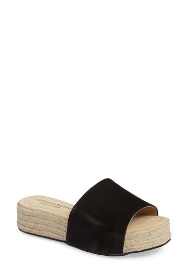 Incaltaminte Femei Jeffrey Campbell Espadrille Sandal BLACK SUEDE