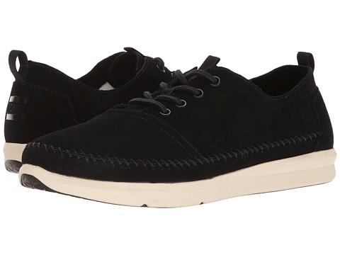 Incaltaminte Barbati TOMS Del Rey Sneaker Black SuedeWhipstitch
