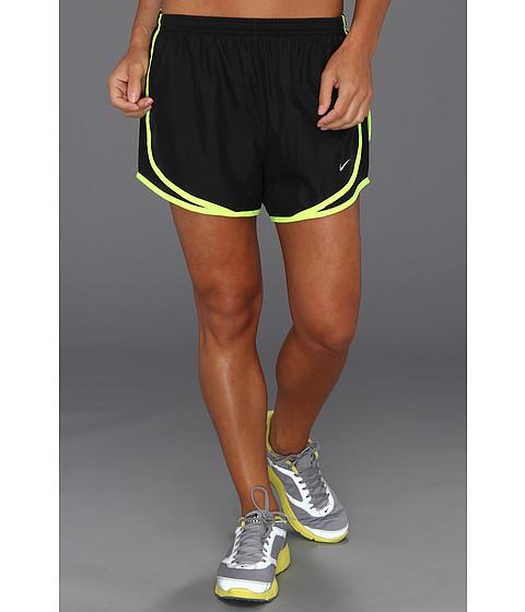 Imbracaminte Femei Nike Dri-FITtrade Tempo Track 35rdquo Short BlackBlackVoltMatte Silver