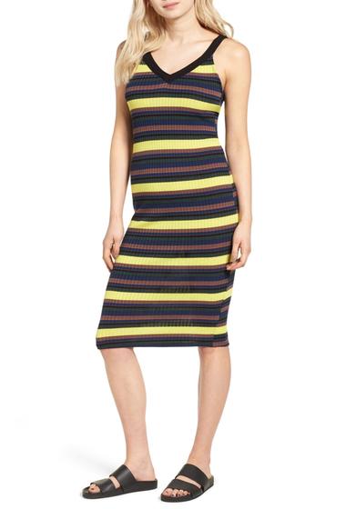 Imbracaminte Femei Splendid Jungle Stripe Midi Tank Dress TENBK MIX