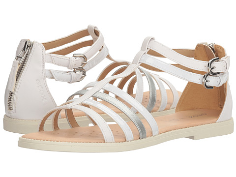 Incaltaminte Fete Geox Jr Sandal Karly Girl 14 (Big Kid) White