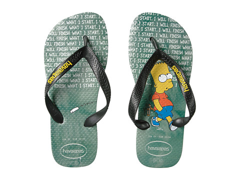 Incaltaminte Fete Havaianas Top Simpsons Flip Flops (ToddlerLittle KidBig Kid) Ice Grey