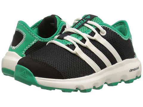 Incaltaminte Baieti adidas Terrex Climacool Voyager (Little KidBig Kid) BlackChalk WhiteCore Green