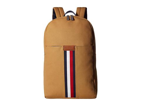 Genti Barbati Tommy Hilfiger Elijah Backpack Canvas British Tan