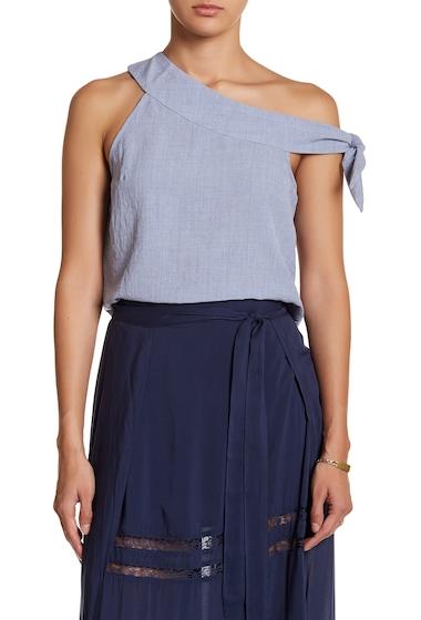 Imbracaminte Femei renamed apparel Nadia Asymmetrical Tank Top DENIM