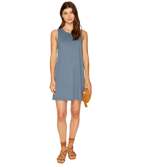 Imbracaminte Femei Roxy Just Simple Solid Tank Dress Chine Blue
