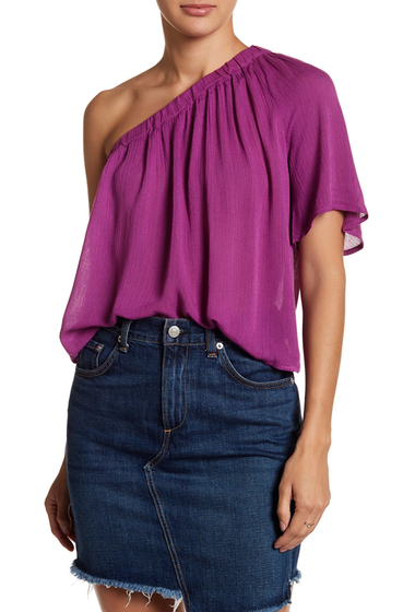 Imbracaminte Femei renamed apparel One Shoulder Solid Blouse PASSION