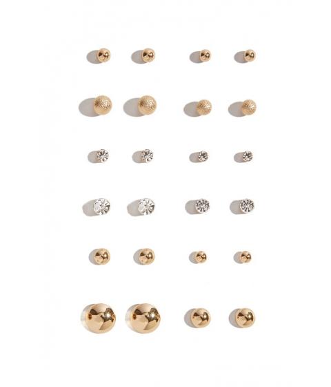 Bijuterii Femei Forever21 Assorted Stud Earring Set GOLD
