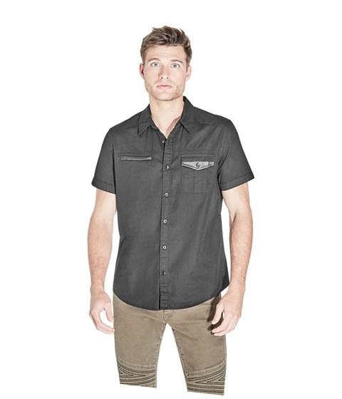 Imbracaminte Barbati GUESS Zoran Poplin Shirt jet black