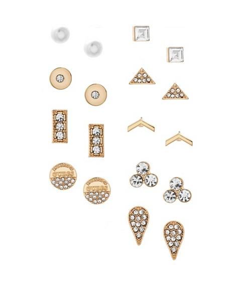 Bijuterii Femei GUESS Gold-Tone Stud Earring Set gold