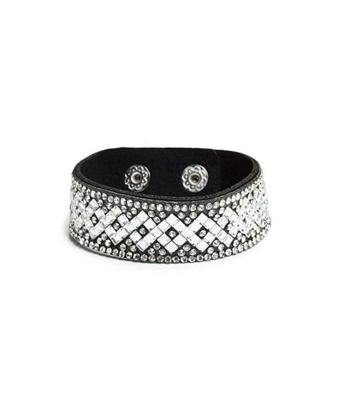 Bijuterii Femei GUESS Rhinestone Snap Bracelet black