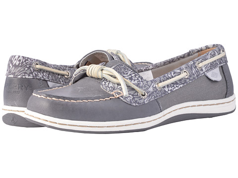 Incaltaminte Femei Sperry Top-Sider Barrelfish Animal Print Dark Grey