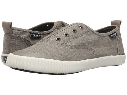Incaltaminte Femei Sperry Top-Sider Sayel Clew Scratched Canvas Taupe
