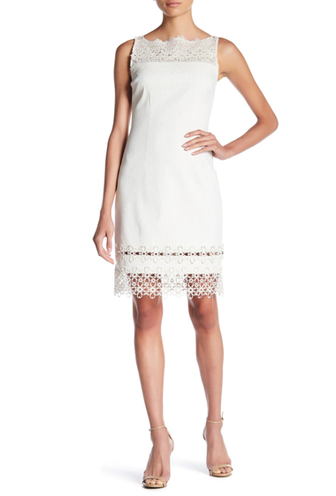 Imbracaminte Femei Elie Tahari Kalista Lace Dress ANTIQUE MULTI