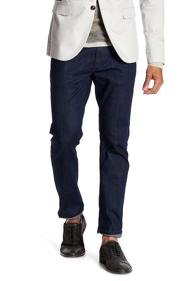 Imbracaminte Barbati John Varvatos Star USA Bowery Slim Straight Leg Jeans MIDNIGHT