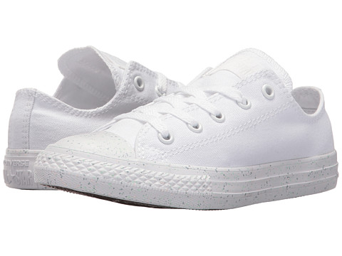 Incaltaminte Fete Converse Chuck Taylor All Star Speckled Midsole Ox (Little Kid) WhiteWhiteWhite