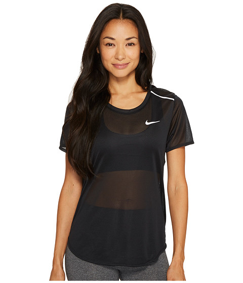 Imbracaminte Femei Nike Breathe Running Top Black