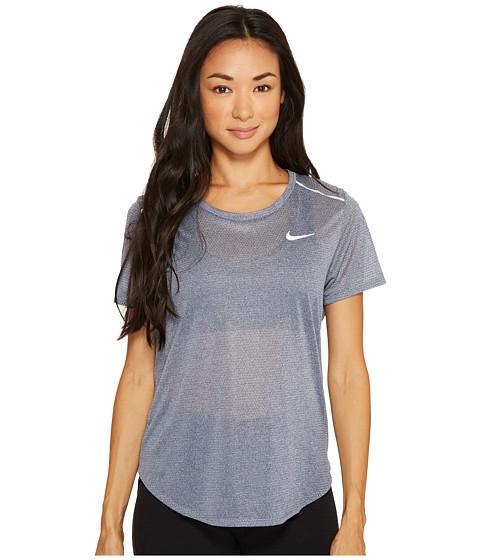 Imbracaminte Femei Nike Breathe Running Top Thunder BlueHeather