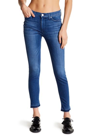 Imbracaminte Femei HUDSON Jeans Barbara High Rise Super Skinny Jeans BLUE RIOT