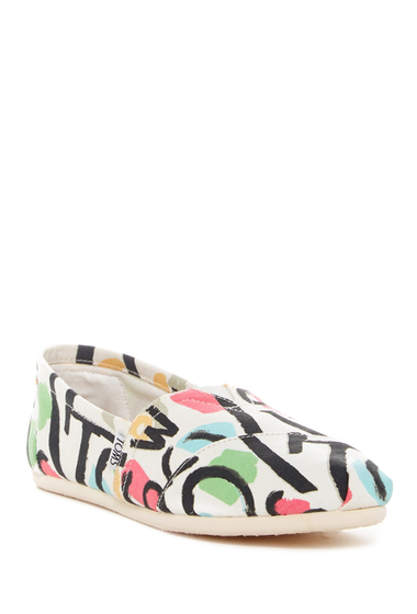 Incaltaminte Femei TOMS Abstract Classic Slip-On Flat OPEN MISCELLANEOUS