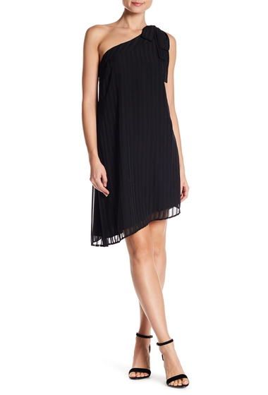 Imbracaminte Femei CeCe by Cynthia Steffe Adela One Shoulder Dress RICH BLACK