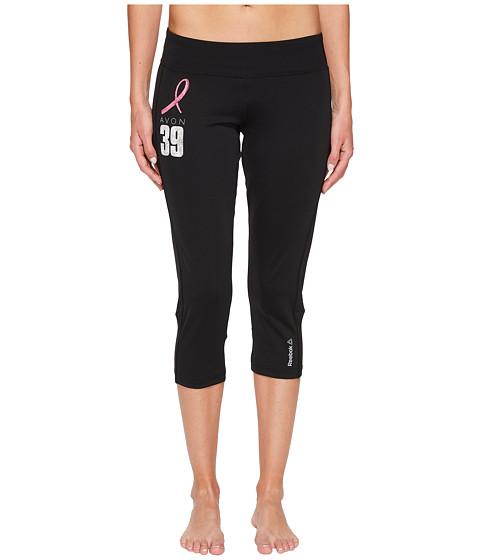 Imbracaminte Femei Reebok Avon Workout Ready Capris Color Block Black