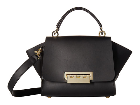 Genti Femei ZAC Zac Posen Top-Handle Crossbody with Floral Strap Black