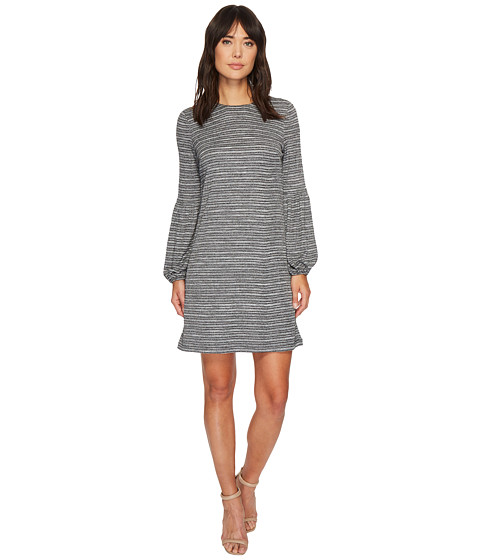 Imbracaminte Femei London Times Lurex Blouson Sleeve Shift Dress Grey