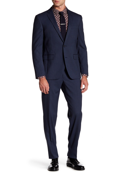 Imbracaminte Barbati 14th Union Pindot Suit NAVY