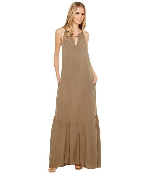 Imbracaminte Femei Michael Stars Modern Rayon Maxi Dress Olive Moss