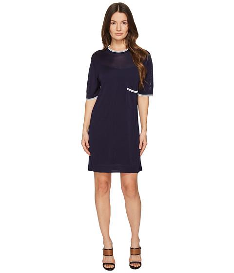 Imbracaminte Femei DSQUARED2 Skin Hibird Short Sleeve Dress NavyBlue