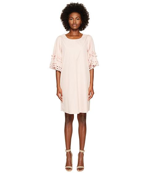 Imbracaminte Femei See by Chloe Embellished Poplin Dress Blush