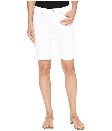 Imbracaminte Femei Liverpool Hayden Rolled-Cuff Bermuda on Super Soft Stretch Denim in Bright White Bright White