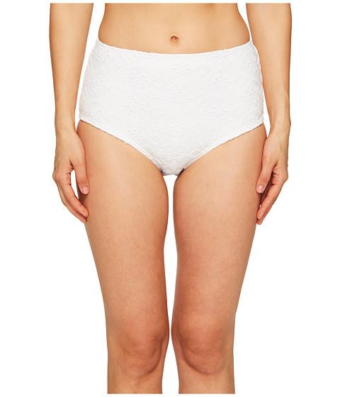 Imbracaminte Femei Kate Spade New York Half Moon Bay 58 High Waisted Bikini Bottom White