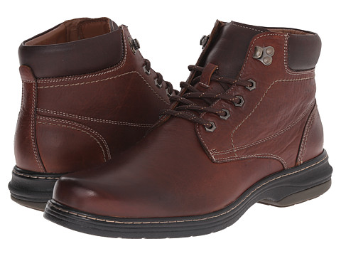 Incaltaminte Barbati Johnston Murphy Colvard Plain Toe Boot Mahogany Waterproof Full Grain