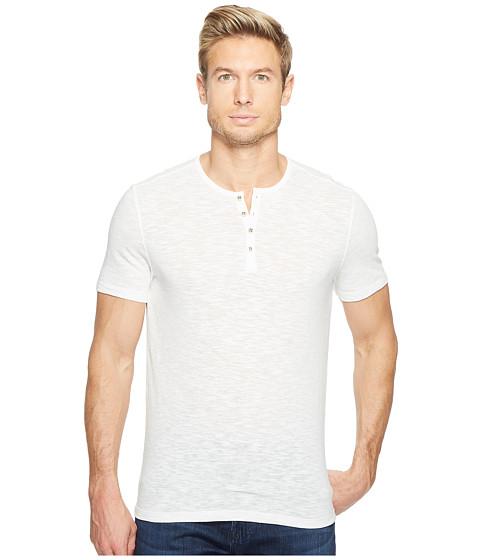 Imbracaminte Barbati John Varvatos Melange Short Sleeve Knit Henley K3167T2L Salt