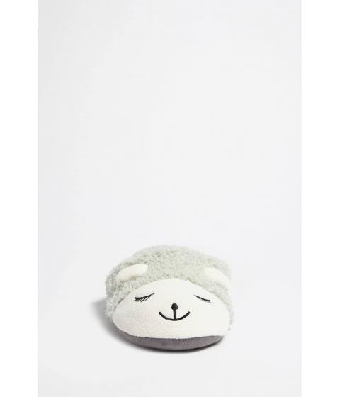 Incaltaminte Femei Forever21 Sheep Slip-On Slippers LIGHT GREENCREAM